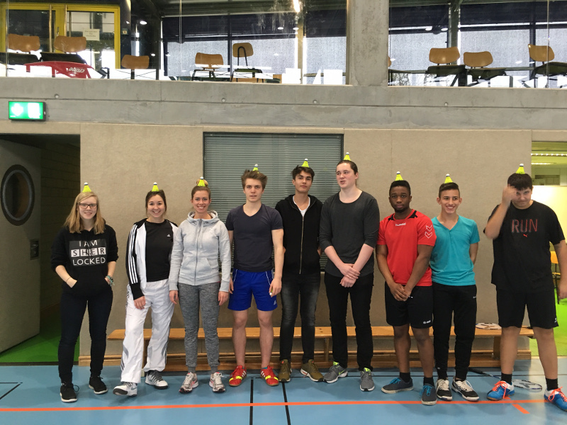 Badminton-Turnies des Jg. 9